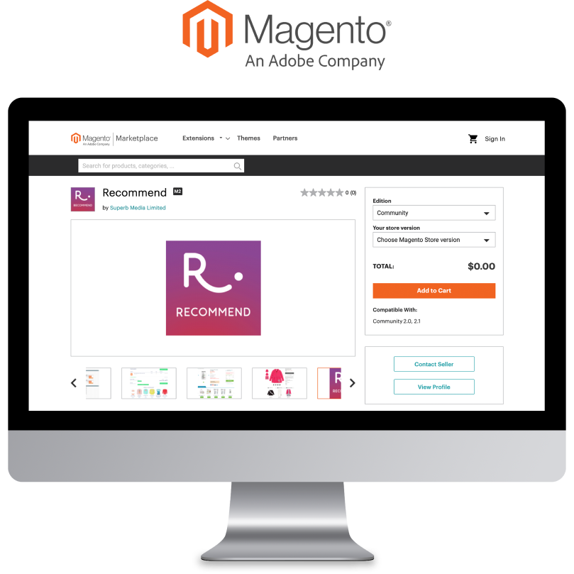 Download Recommend Magento 2 extension