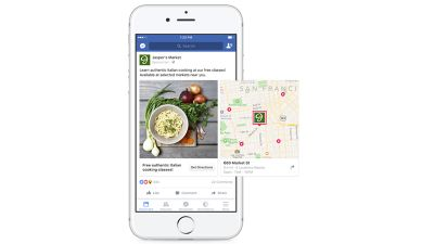 Facebook-Geolocation