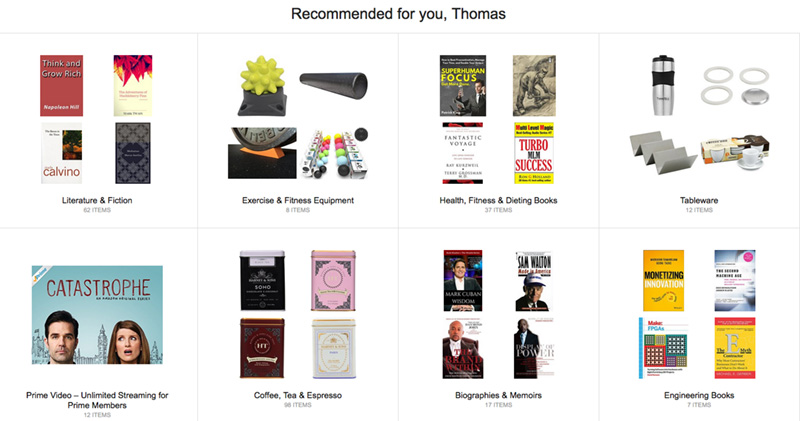 Amazon-Recommend Products