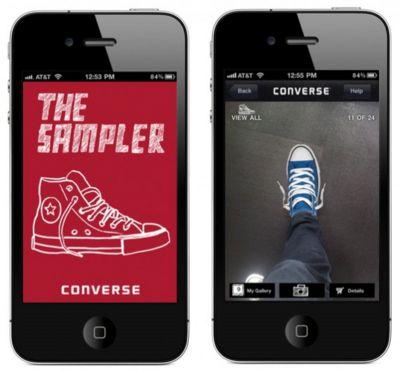Converse The Shoe Sampler App