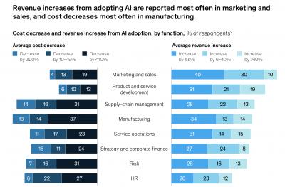 Revenue increases AI